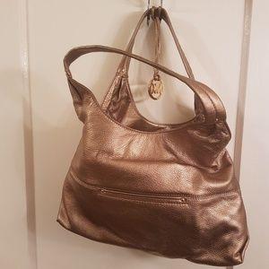 Michael Kors Tan Leather Handbag Bag